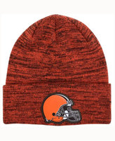 New Era Cleveland Browns Beveled Team Knit Hat