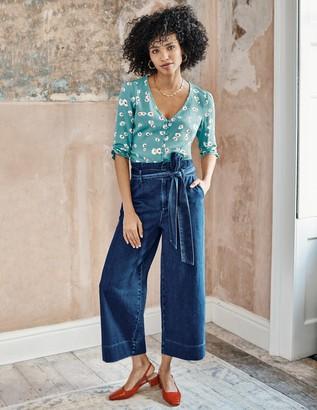 Boden Paperbag Wide Leg Jeans