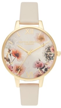 Olivia Burton Women's Blush Vegan Strap Watch 34mm