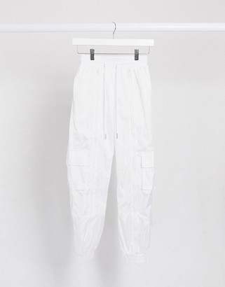 Sixth June relaxed sweatpants with zip front two-piece