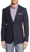 Ted Baker Men's Trim Fit Diamond Pattern Jacket