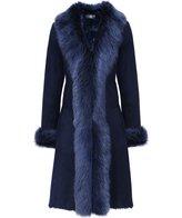 Dom Goor Women's Long Shearling Coat