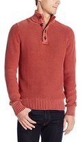 Lucky Brand Men's Washed Out Mock Neck Sweater