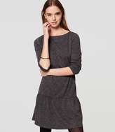 LOFT Cozy Flounce Dress