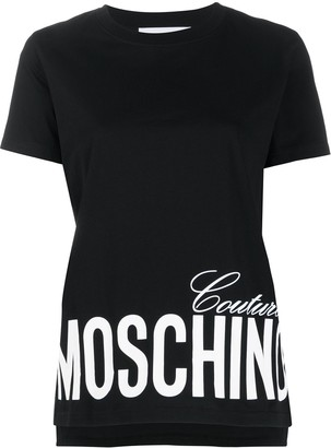 Moschino Couture print short-sleeve T-shirt