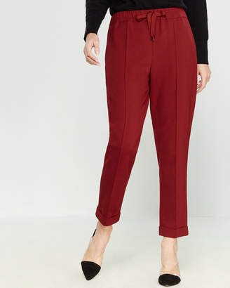 Liviana Conti Drawstring Taper Cuffed Pants
