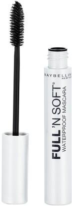 Maybelline Full 'N Soft Waterproof Mascara Very Black