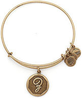 Alex and Ani Initial Z Charm Bangle