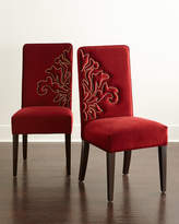 Haute House Miguel Dining Chairs, Coordinating Pair