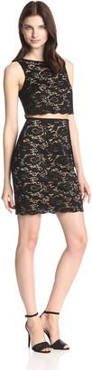 Bailey 44 Women's Desert Moon Lace Zip Back Dress