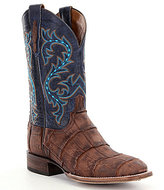 Lucchese Men's Malcolm Western Alligator Foot Boots