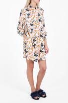 Paul & Joe Triton Floral Print Shirt Dress