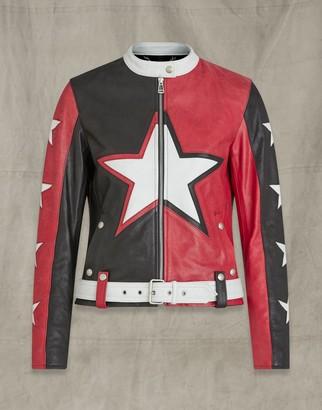 Belstaff Trapster Waxed Leather Jacket