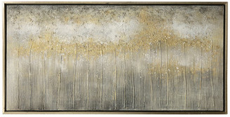 """Stylecraft Hand Painted On Canvas With Gold Frame, 48""""x24"""""""