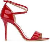 Armani Collezioni ankle strap sandals - women - Leather/Patent Leather - 36