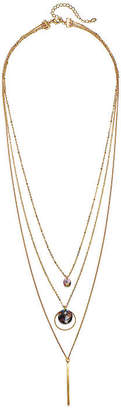 Mixit Resin 28 Inch Link Chain Necklace