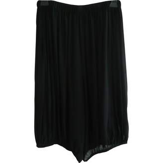John Rocha Black Silk Trousers for Women