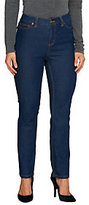 As Is Liz Claiborne New York Regular Jackie Slim Leg Jeans