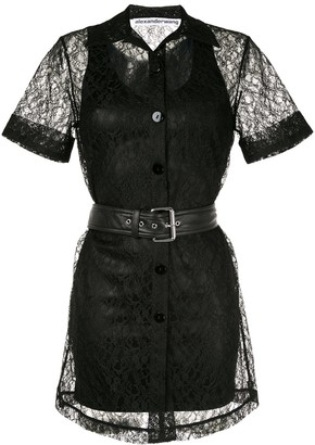 Alexander Wang Short Lace Dress