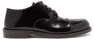 Marni Patent-leather Derby Shoes - Mens - Black