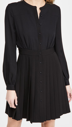 Theory Pleated Bd Dress
