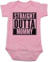 Vulgar Baby Straight Outta Mommy Onesie (6-12 MO, )
