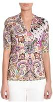 Etro Women's Multicolor Viscose T-shirt.