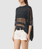 AllSaints Sheer Jumper