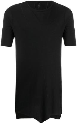 Masnada short sleeve raw edge T-shirt