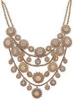 "Marchesa Multi Row Collar Necklace, 13"""