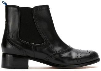 Blue Bird Shoes York leather boots