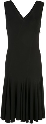 Josie Natori Stretch Viscose Dress