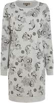 Biba Dragon print sweat dress
