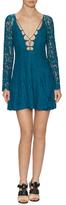 Style Stalker Love Bomb Lace Cotton Mini Dress