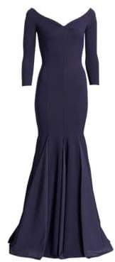 Chiara Boni Women's Diva Mermaid Gown - Midnight - Size 46 (10)
