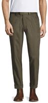 Michael Bastian Herringbone Cotton Pants