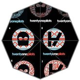 Custom Umbrella Custom Waterproof Polyester Umbrella Twenty One Pilots Print Fit Best Gift