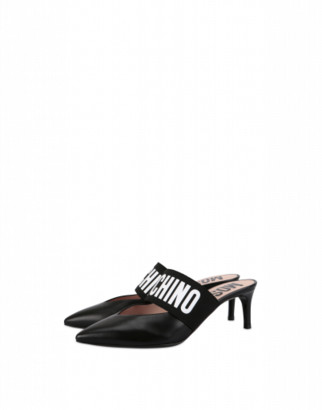 Moschino Mules With Logo