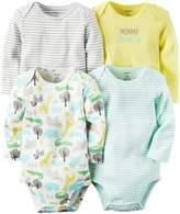 Carter's Baby Girls Multi-Pk Bodysuits 126g458, Assorted, 6M