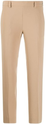 Alberto Biani Pleated Cropped Trousers