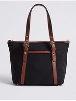 M&S Collection Eyelet Tote Bag