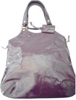 Saint Laurent Purple Leather Handbag