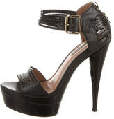 Rachel Zoe Embossed Platform Pumps