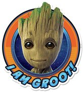 Marvel Guardians of the Galaxy I Am Groot Wall Art