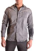Meltin Pot Men's Grey Cotton Shirt.