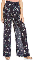 Blu Pepper Floral Printed Wide Leg Pants