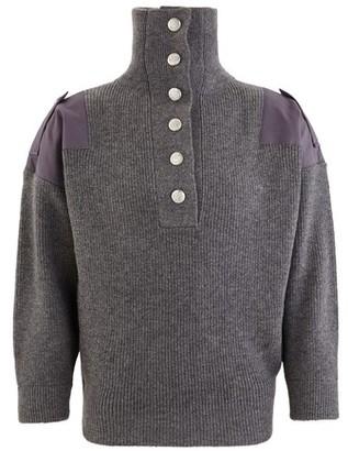 Stella McCartney Wool hooded jumper