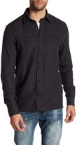 Threads 4 Thought Long Sleeve Regular Fit Double Pocket Flannel Shirt