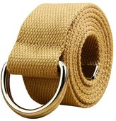 Sitong Fashion casual double loop buckle canvas belt