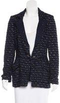 Oscar de la Renta Metallic Tweed Jacket